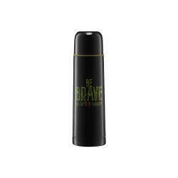 "Termos AMBITION Adventure ""Be Brave"" 500 ml czarny"